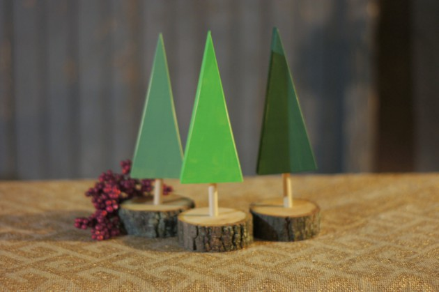 wooden christmas tree 18 magical diy christmas decoration - Wooden Christmas Decorations To Make