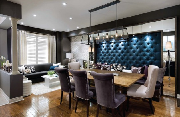 20 Beautiful Dining Rooms With Velvet Chairs