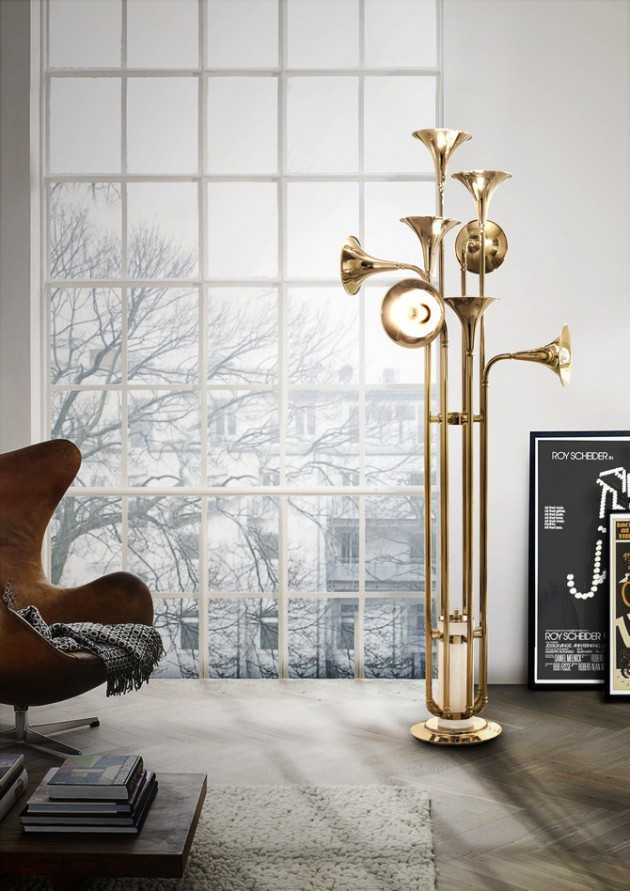 19 Outstanding Floor Lamps That Will Add Charm To Any Living Room