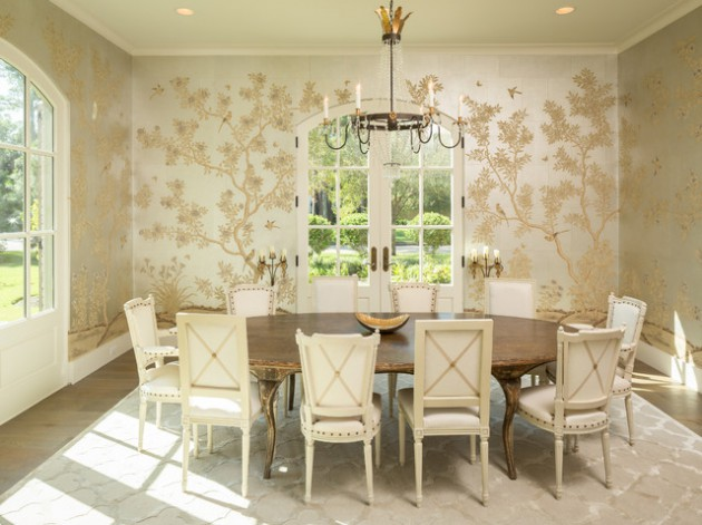 20 Stunning Shabby Chic Dining Room Design Ideas