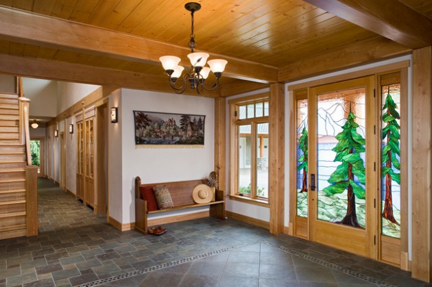 20 fantastic rustic entrance designs for a pleasant - Make your house a home ...