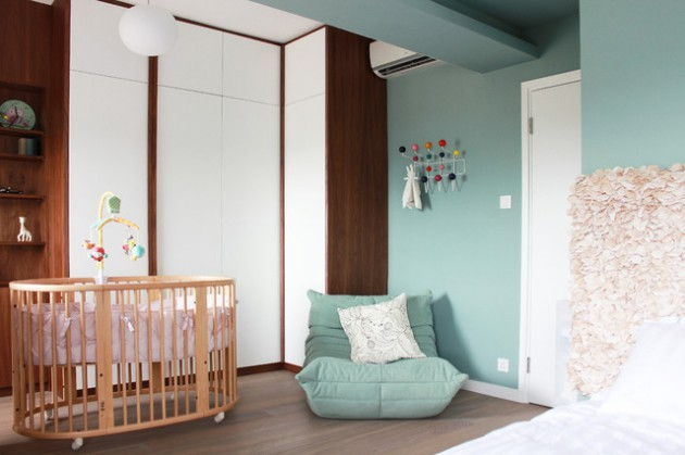 16 Cute Round Baby's Crib Ideas That Will Melt Your Heart