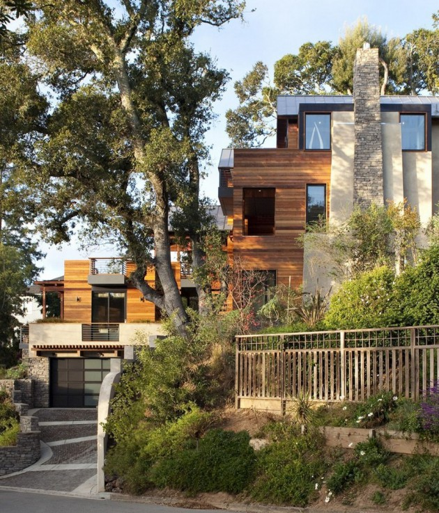 Hillside House - A Contemporary Home In The Hills Designed By SB Architects