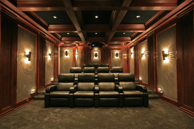 21 Astonishing Ceiling Designs That Will Enrich The Look Of Your Home Cinema