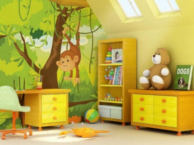 10 Lovely Wallpaper Designs To Adorn The Child's Room