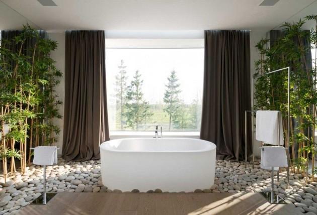 Rocks In The Bathroom- 12 Beautiful Design Ideas