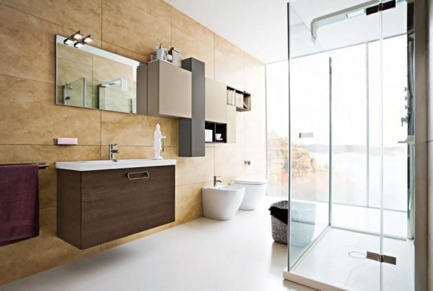 Beige In Your Bathroom  15 Wonderful Designs For Extravagant Look