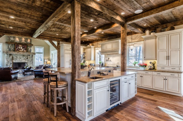 17 Charming Wooden Ceiling Designs For Rustic Look In Your