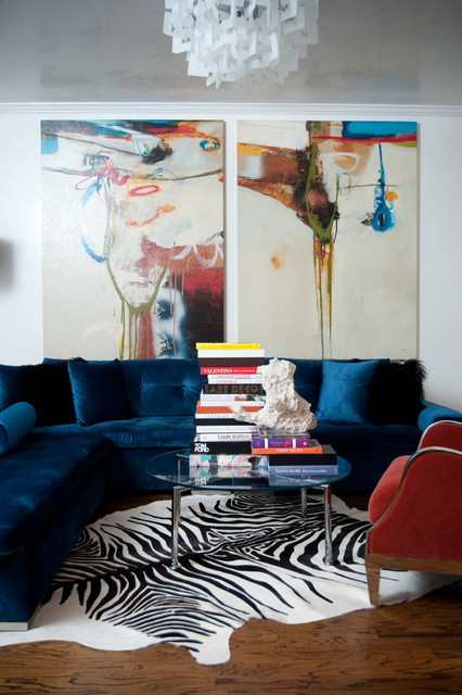 17 Divine Interiors With Abstract Art That Will Amaze You