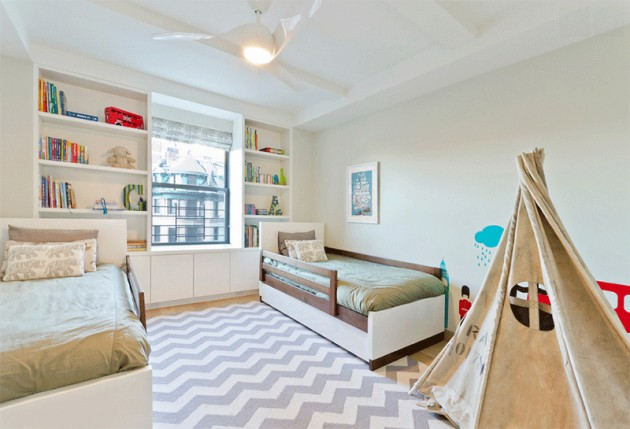 Add Fun To The Child's Room- 19 Fascinating Tepee Designs