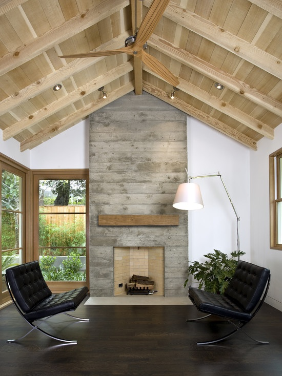 16 Concrete Fireplace Designs To Enrich The Look Of Your
