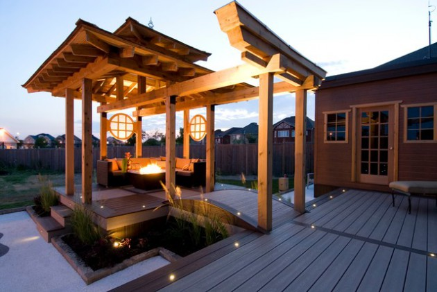 17 Inspirational Asian Deck Design Ideas