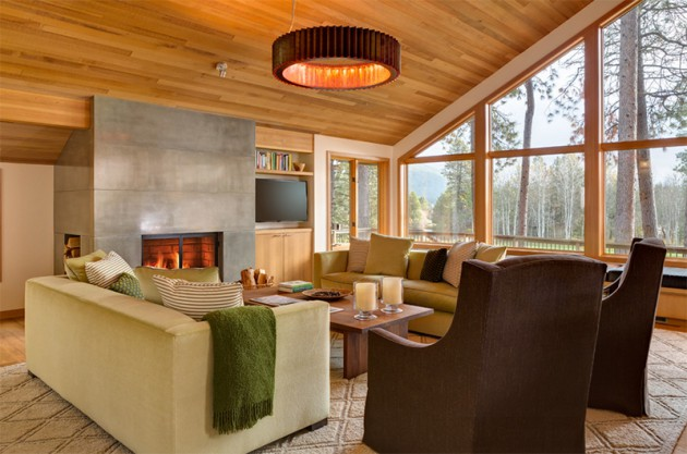 16 Concrete Fireplace Designs To Enrich The Look Of Your Living Room