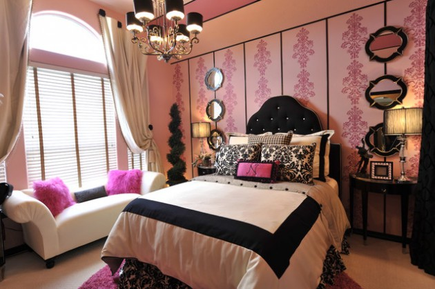 18 Delightful Traditional Girls Bedroom Design Ideas