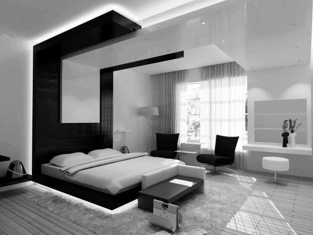 17 Timeless Black & White Bedroom Designs That Everyone Will Adore