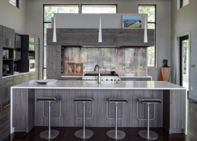 18 Functional Solutions For Decorating Contemporary Kitchen