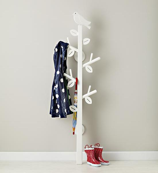 12 Extraordinary Tree Coat Racks To Break The Monotony In The Home