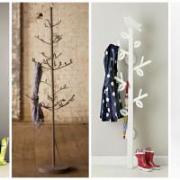 12 Extraordinary Tree Coat Racks To Break The Monotony In The Home