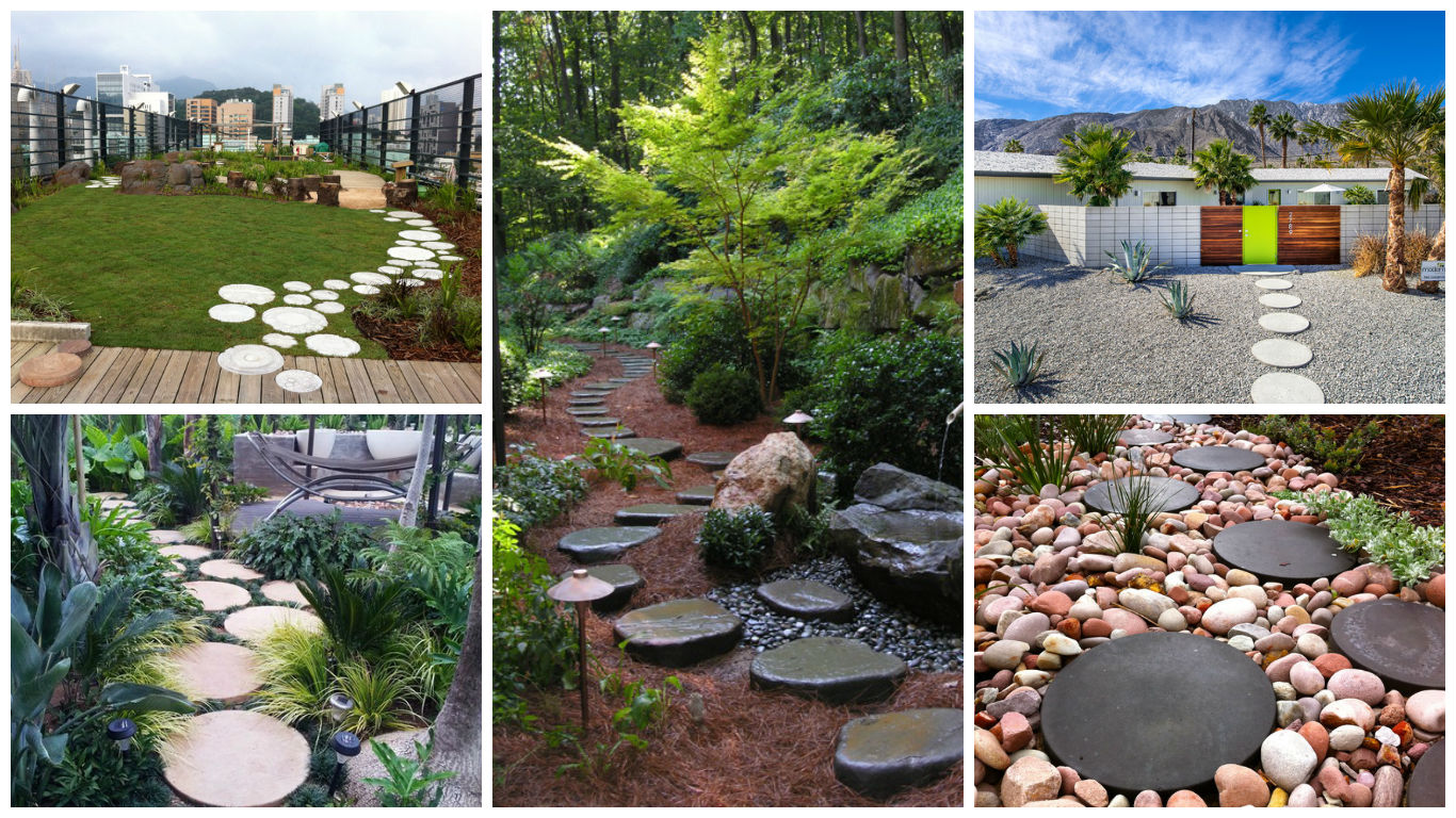 17 Creative Round Stepping Stone Designs For Your ...