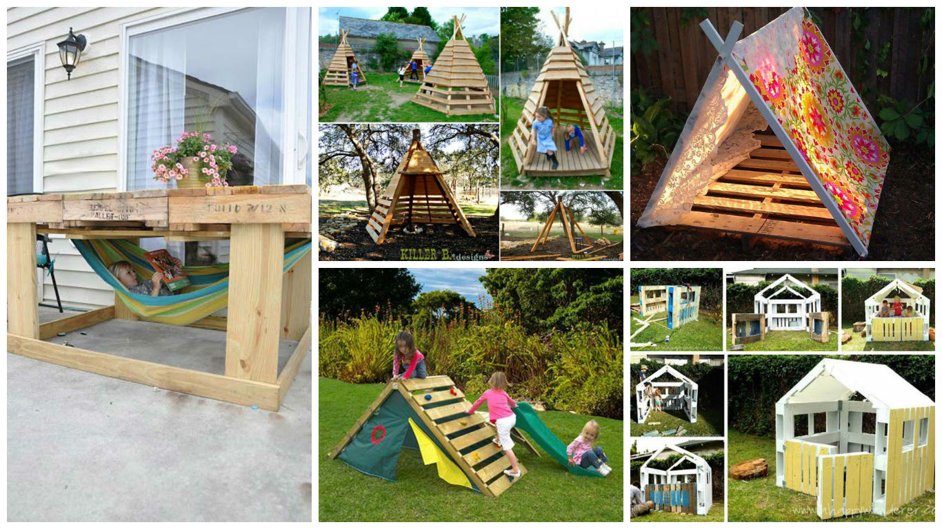 Top 23 Surprisingly Amazing DIY Pallet Furniture For The Kids  R