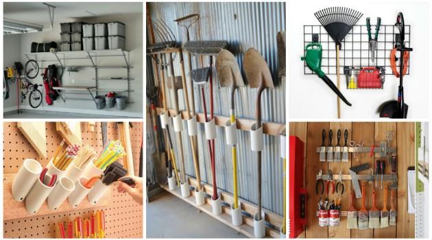 Top 15 Ingenious Ideas To Declutter & Organize The Garage