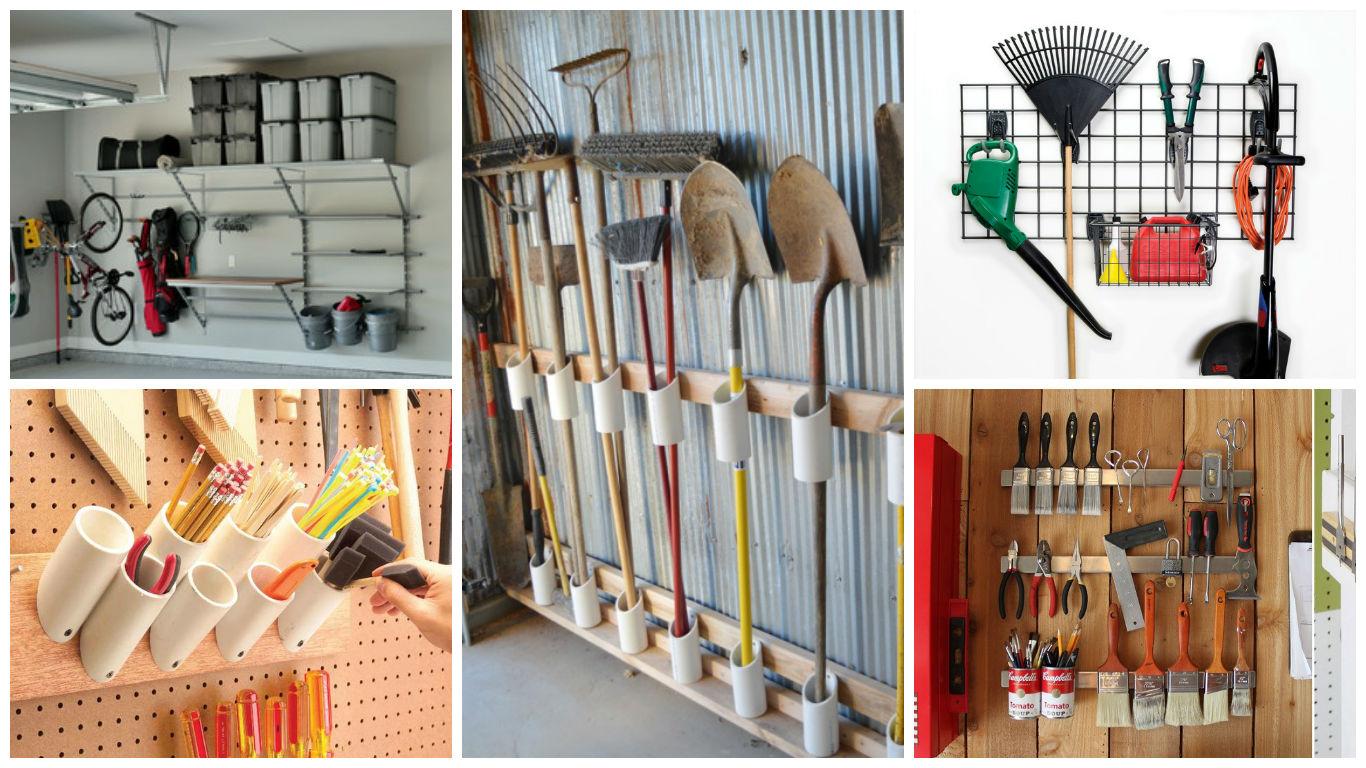 To Garage: Top 15 Ingenious Ideas To Declutter & Organize The Garage