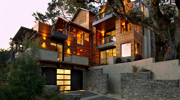 Hillside House – A Contemporary Home In The Hills Designed By SB Architects