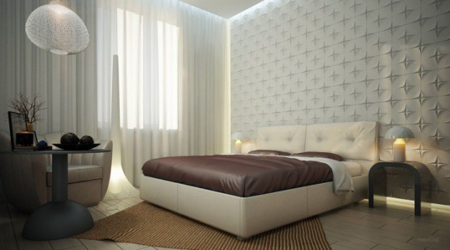 18 Adorable Bedrooms With Textured Walls That You Are Going To Love