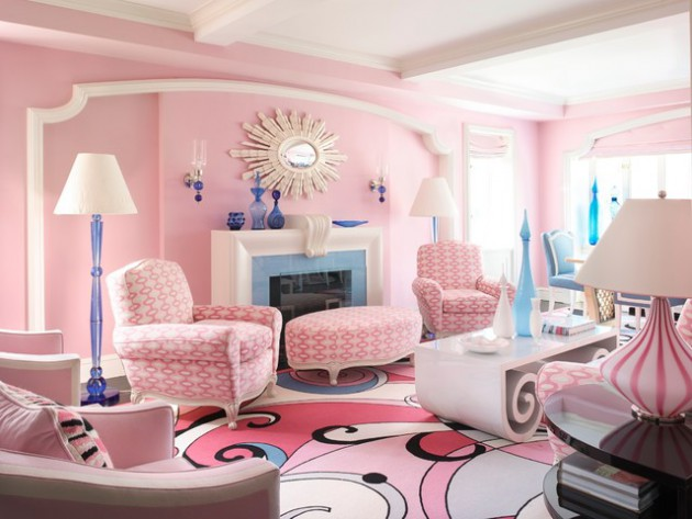 17 pink living room designs for cheerful atmosphere for 17 x 14 living room