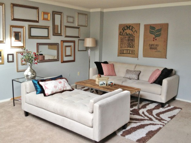 Decorating With Empty Frames 18 Brilliant Ideas To Make Trendy Home