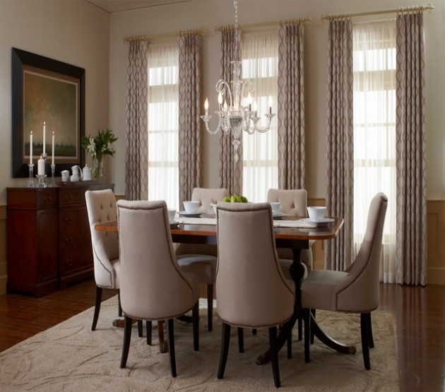 17 Remarkable Dining Room Curtains For Delightful Atmosphere on Dining Room Curtains  id=51613