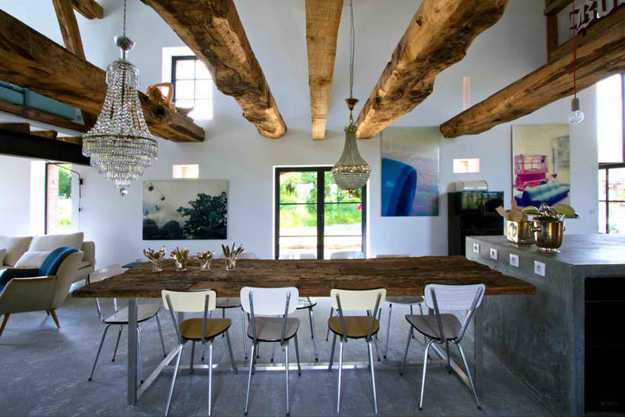 Interior design wood  Gorgeous Interior Designs With Reclaimed Wood For Pleasant Feel