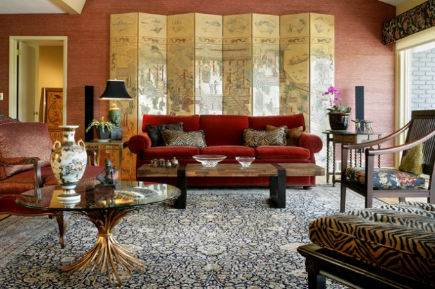 17 Divine Asian Inspired Living Room Designs That Exudes With Elegance