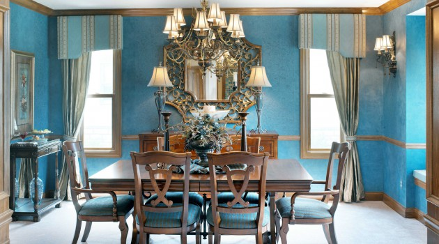 15 Charming Dining Rooms With Wooden Table For Pleasant Feel