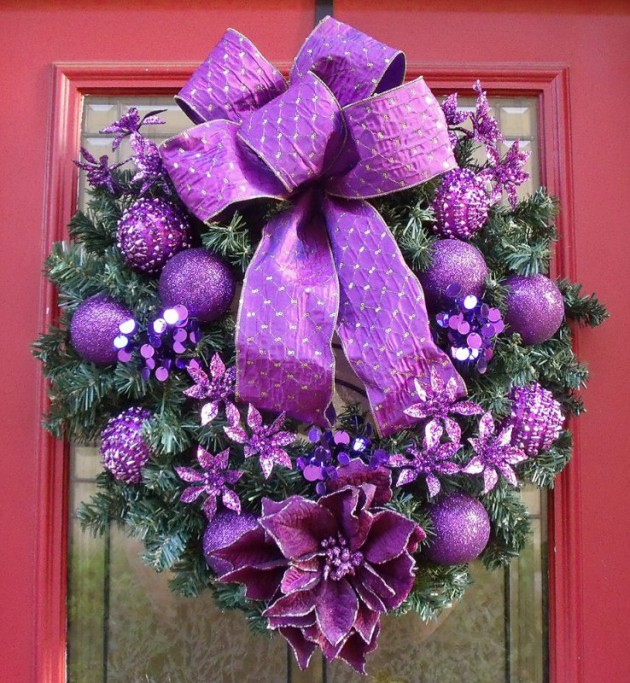 19 Amazingly Gorgeous Purple Christmas Decorations To Add Sophistication In Your Home