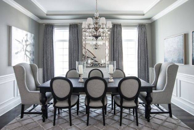 17 Remarkable Dining Room Curtains For Delightful Atmosphere