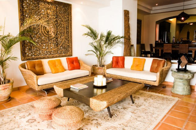 Attractive 17 Divine Asian Inspired Living Room Designs That Exudes With Elegance Part 3