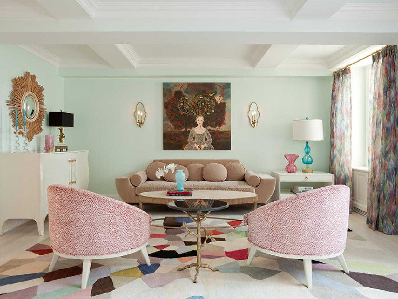 32 Magnificent Pastel Living Room Designs That Will Catch Your Eye