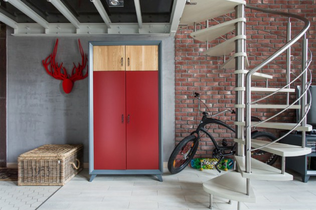 15 Attractive Industrial Entry Designs That Will Drag You Inside
