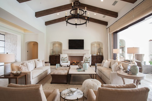 15 Elegant Transitional Living Room Designs Youll Love Relaxing In
