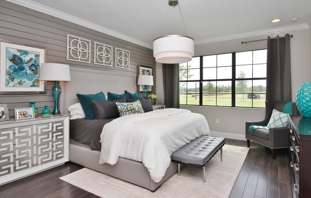 15 Fantastic Transitional Bedroom Designs You're Going To ...