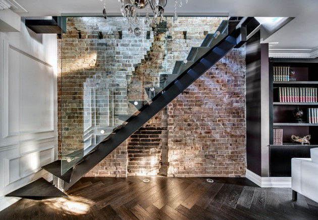 15 Prodigious Industrial Staircase Designs You'll Fall For