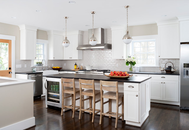 15 uplifting transitional kitchen designs that will motivate you to