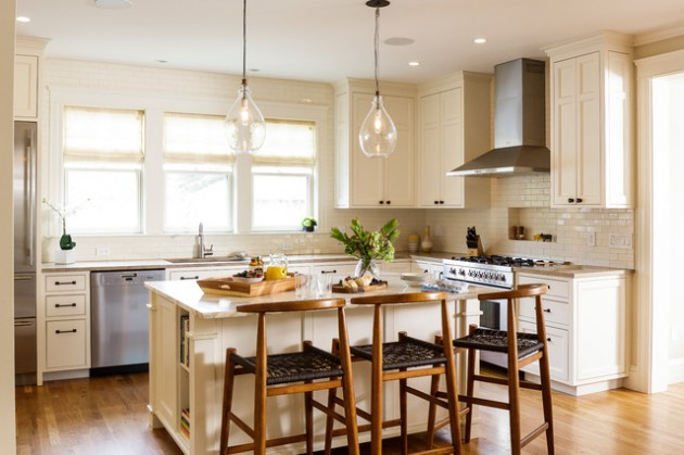 15 Uplifting Transitional Kitchen Designs That Will Motivate You To Become a Chef
