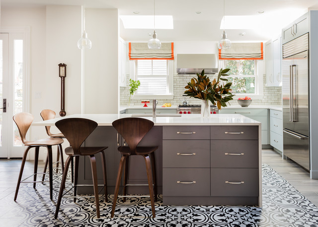 15 Uplifting Transitional Kitchen Designs That Will