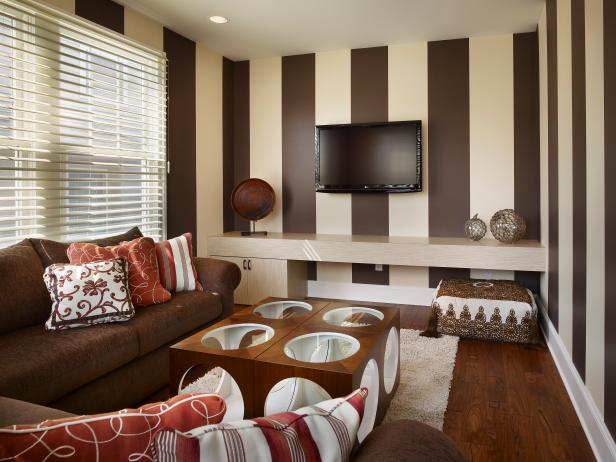 striped living room walls 16 lovely living rooms with striped walls 15740