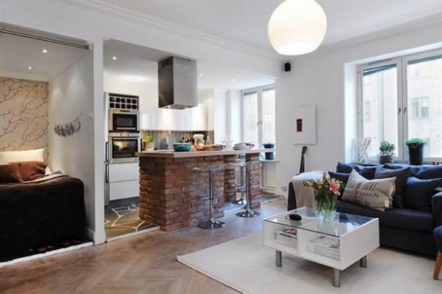 Decorate Small Open Concept Kitchen