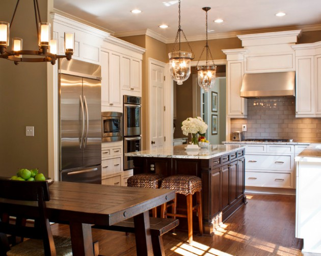 17 Attractive Traditional Kitchen Lighting Ideas To Beautify Your