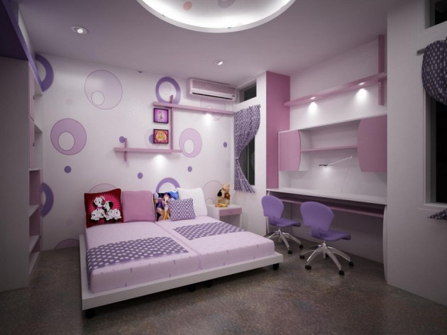15 Adorable Purple Child's Room Designs That Will Be Perfect Kingdom For The Kids