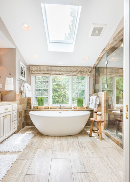 18 Divine Mediterranean Bathrooms That Will Make You Fall In Love With This Style